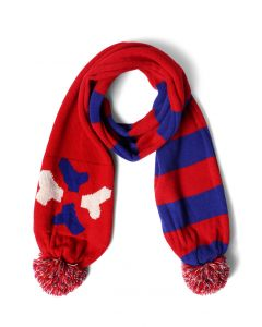 Merrymaking Moment Pom-Pom針織圍巾