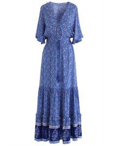 波西米亞連衣長裙
