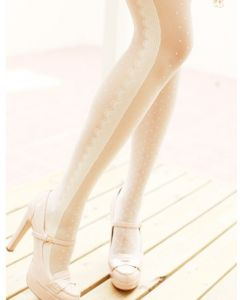French Romantic Tights